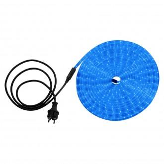 GLOBO 38973 | LightTube Globo svijetleća cijev svjetiljka 216x LED 216lm IP44 plavo