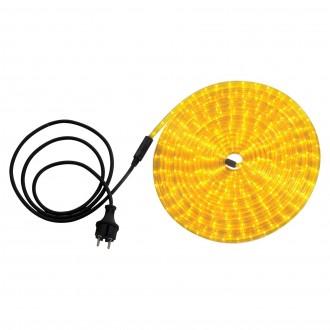 GLOBO 38975 | LightTube Globo svijetleća cijev svjetiljka 216x LED 130lm IP44 žuto