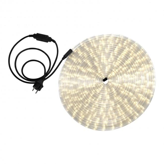 GLOBO 38982 | LightTube Globo svijetleća cijev topla bijela svjetleći kabel - 18 m 432x LED 864lm 2600K IP44 topla bijela