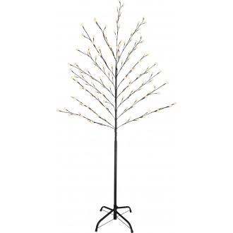GLOBO 39119 | Viridis-I Globo podna svjetiljka 160cm 128x LED 192lm 2700K IP44 crno, bijelo