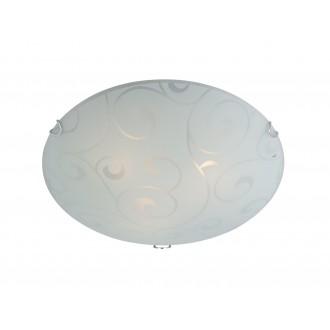 GLOBO 40400-3 | Bike Globo stropne svjetiljke svjetiljka 3x E27 poniklano mat, bijelo, prozirna
