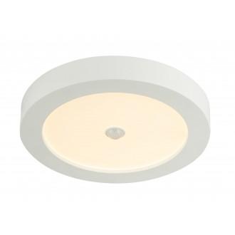 GLOBO 41605-18S | Paula-Svenja Globo stropne svjetiljke svjetiljka sa senzorom 1x LED 1900lm 3000K IP44/20 bijelo, opal