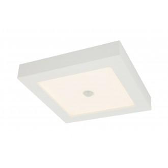 GLOBO 41606-18S | Paula-Svenja Globo stropne svjetiljke svjetiljka sa senzorom 1x LED 1900lm 3000K IP44/20 bijelo, opal