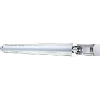 GLOBO 42418-10 | Levi Globo zidna svjetiljka izvori svjetlosti koji se mogu okretati 1x LED 600lm 4000K krom