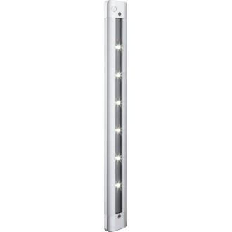 GLOBO 42423   Spooky Globo zidna svjetiljka sa dodirnim prekidačem 6x LED 180lm 6000K srebrno