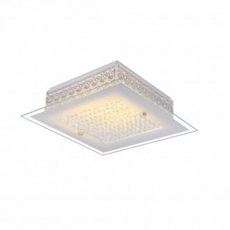 GLOBO 49349 | Heidir Globo stropne svjetiljke svjetiljka 1x LED 1030lm 3100K krom, bijelo, prozirno