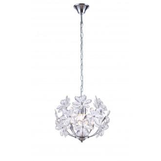 GLOBO 5133 | Juliana Globo visilice svjetiljka 1x E27 krom, prozirno