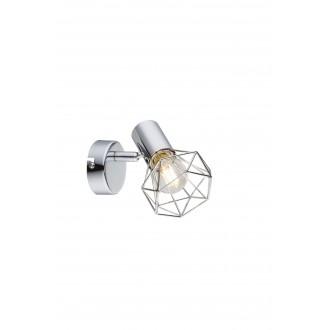 GLOBO 54802-1 | XaraG-I Globo spot svjetiljka elementi koji se mogu okretati 1x E14 krom
