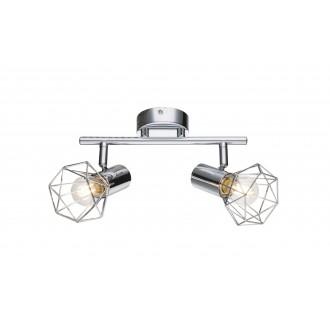 GLOBO 54802-2 | XaraG-I Globo spot svjetiljka elementi koji se mogu okretati 2x E14 krom