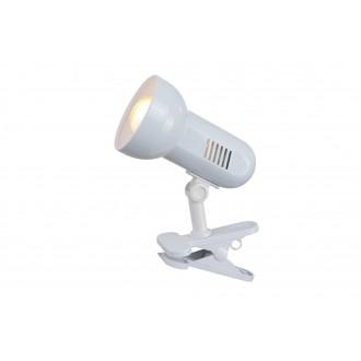 GLOBO 5496 | Basic-III Globo svjetiljke sa štipaljkama svjetiljka sa prekidačem na kablu 1x E27 bijelo
