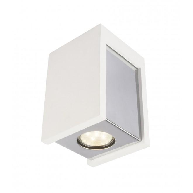 GLOBO 55010-1D | Christine-Timo Globo stropne svjetiljke svjetiljka 1x GU10 krom, bijelo