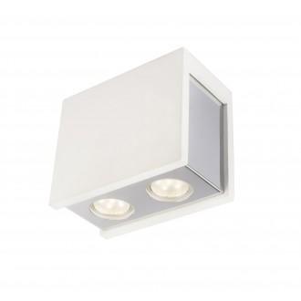 GLOBO 55010-2D | Christine-Timo Globo stropne svjetiljke svjetiljka 2x GU10 krom, bijelo