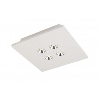 GLOBO 55010-4D | Christine-Timo Globo stropne svjetiljke svjetiljka 1x LED 1323lm 3000K bijelo, krom