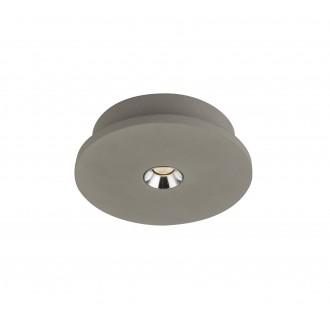 GLOBO 55011-1 | Christine-Timo Globo stropne svjetiljke svjetiljka 1x LED 378lm 3000K sivo, krom