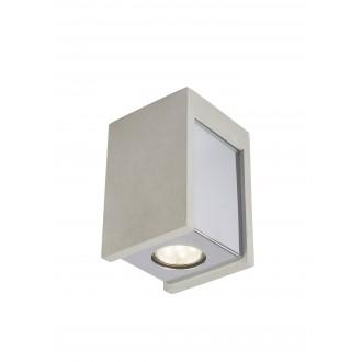 GLOBO 55011-1D | Christine-Timo Globo stropne svjetiljke svjetiljka 1x GU10 krom, sivo