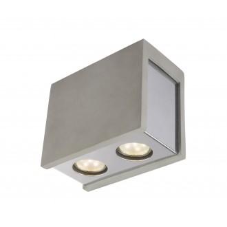 GLOBO 55011-2D | Christine-Timo Globo stropne svjetiljke svjetiljka 2x GU10 krom, sivo