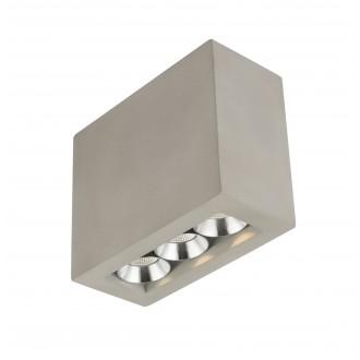 GLOBO 55011-3A | Christine-Timo Globo stropne svjetiljke svjetiljka 1x LED 594lm 3000K krom, sivo