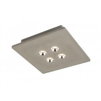 GLOBO 55011-4D | Christine-Timo Globo stropne svjetiljke svjetiljka 1x LED 1323lm 3000K sivo, krom