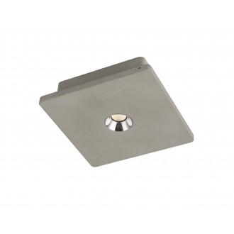GLOBO 55011 | Christine-Timo Globo stropne svjetiljke svjetiljka 1x LED 378lm 3000K sivo, krom