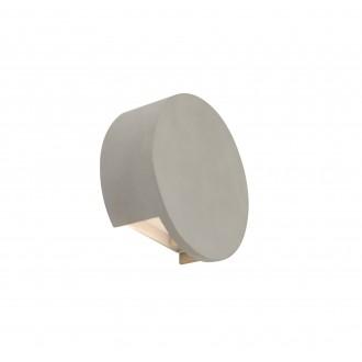 GLOBO 55011-W2 | Christine-Timo Globo zidna svjetiljka 1x LED 615lm 3000K sivo