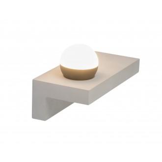 GLOBO 55011-W3 | Christine-Timo Globo zidna svjetiljka 1x LED 730lm 3000K sivo