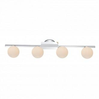 GLOBO 5663-4 | Cardiff Globo zidna, stropne svjetiljke svjetiljka 4x G9 IP44 krom, saten