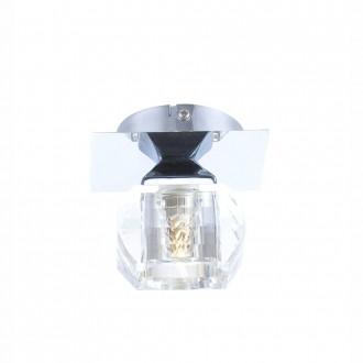 GLOBO 5692-1 | Cubus Globo stropne svjetiljke svjetiljka 1x G9 krom, prozirno