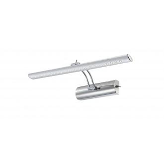 GLOBO 78301 | Picture-I Globo zidna svjetiljka s prekidačem elementi koji se mogu okretati 1x LED 220lm 4000K krom