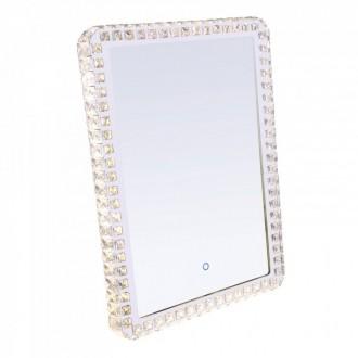 GLOBO 84031 | Zerra Globo zidna svjetiljka jačina svjetlosti se može podešavati, sa podešavanjem temperature boje 1x LED 1080lm 3000 - 4000 - 6000K krom, zrcalo, kristal