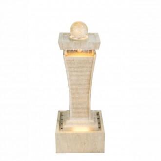 GLOBO 93029 | Globo fontana za sobu svjetiljka 1x LED 76lm 2460K IP65 bijelo