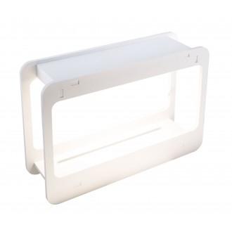 GLOBO 93102 | Dillane Globo stolna svjetiljka 32cm timer 1x LED 900lm 4000K IP54 bijelo