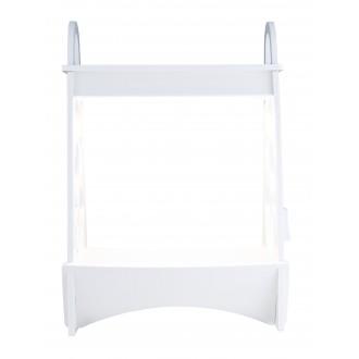 GLOBO 93103 | Dillane Globo stolna svjetiljka 50,5cm timer 1x LED 900lm 4000K IP54 bijelo