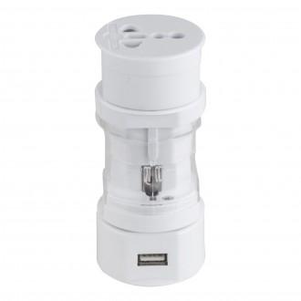 GLOBO 98069 | Globo adapter pribor bijelo