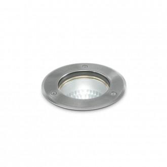 IDEAL LUX 032825   Park-IL Ideal Lux ugradbena svjetiljka - PARK PT1 ROUND MEDIUM - Ø150mm 150x150mm 1x E27 IP54 čelik, prozirno
