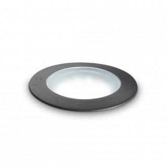 IDEAL LUX 120249   Ceci-IL Ideal Lux ugradbene svjetiljke 5000 kg svjetiljka - CECI PT1 ROUND SMALL - UV odporna plastika Ø90mm 90x90mm 1x GU10 4000K IP67 UV crno, opal