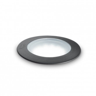 IDEAL LUX 120324   Ceci-IL Ideal Lux ugradbene svjetiljke 5000 kg svjetiljka - CECI PT1 ROUND BIG - UV odporna plastika Ø155mm 155x155mm 1x GX53 800lm 4000K IP67 UV crno, opal