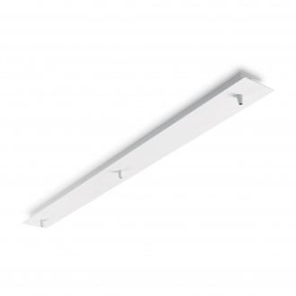 IDEAL LUX 122854   Ideal Lux pribor rezervni dijelovi - ROSONE METALLO 3 LUCI BIANCO - bijelo