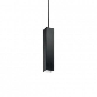 IDEAL LUX 126913 | Sky-IL Ideal Lux visilice svjetiljka - SKY SP1 NERO - 1x GU10 400lm 3000K crno, bijelo