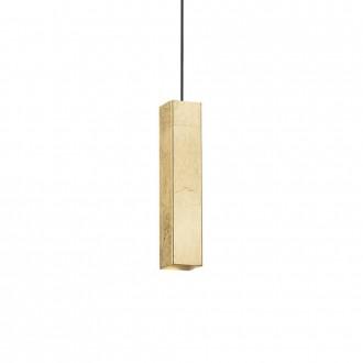 IDEAL LUX 136936 | Sky-IL Ideal Lux visilice svjetiljka - SKY SP1 ORO - 1x GU10 400lm 3000K zlatno, bijelo
