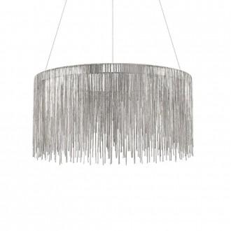 IDEAL LUX 137032 | Versus Ideal Lux visilice svjetiljka - VERSUS SP ROUND - 1x LED 3300lm 3000K krom