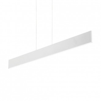 IDEAL LUX 138237 | Desk Ideal Lux zidna svjetiljka - DESK SP1 BIANCO - 1x LED 2100lm 3000K bijelo mat