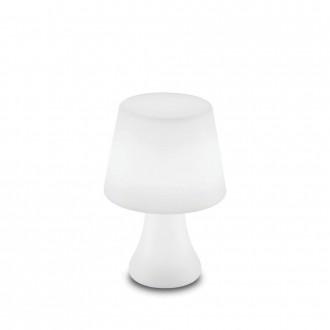 IDEAL LUX 138886   Live Ideal Lux dekoracija svjetiljka - LIVE PT LUMETTO - s prekidačem promjenjive boje, baterijska/akumulatorska 1x LED 70lm 4000K IP65 bijelo mat