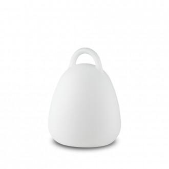 IDEAL LUX 138893   Live Ideal Lux dekoracija svjetiljka - LIVE PT CAMPANA - s prekidačem promjenjive boje, baterijska/akumulatorska 1x LED 70lm 4000K IP65 bijelo mat