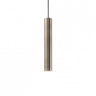 IDEAL LUX 141794 | Look-IL Ideal Lux visilice svjetiljka - LOOK SP1 D06 BRUNITO - 1x GU10 2700K antik zlato