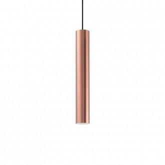 IDEAL LUX 141855 | Look-IL Ideal Lux visilice svjetiljka - LOOK SP1 D06 RAME - 1x GU10 2700K crveni bakar