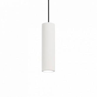 IDEAL LUX 150628 | Oak-IL Ideal Lux visilice svjetiljka - OAK SP1 ROUND BIANCO - može se bojati 1x GU10 bijelo