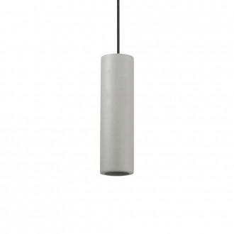 IDEAL LUX 150635 | Oak-IL Ideal Lux visilice svjetiljka - OAK SP1 ROUND CEMENTO - može se bojati 1x GU10 sivo