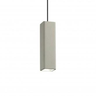 IDEAL LUX 150673 | Oak-IL Ideal Lux visilice svjetiljka - OAK SP1 SQUARE CEMENTO - može se bojati 1x GU10 sivo