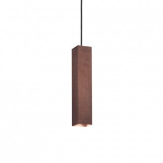 IDEAL LUX 170596 | Sky-IL Ideal Lux visilice svjetiljka - SKY SP1 CORTEN - 1x GU10 400lm 3000K corten, rdža smeđe, zlatno