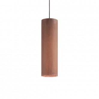 IDEAL LUX 187686 | Look-IL Ideal Lux visilice svjetiljka - LOOK SP1 D12 CORTEN - 1x GU10 2700K corten, rdža smeđe